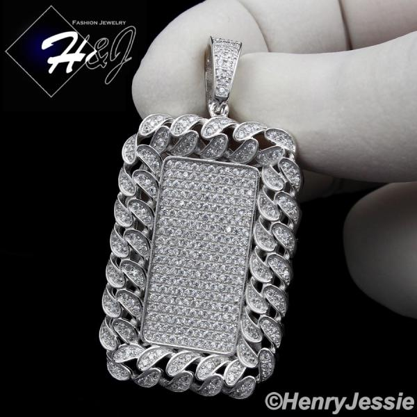 Men 925 sterling silver lab diamond iced out bling hip hop dog tag men 925 sterling silver lab diamond iced out bling hip hop dog tag pendantsp145 mozeypictures Choice Image